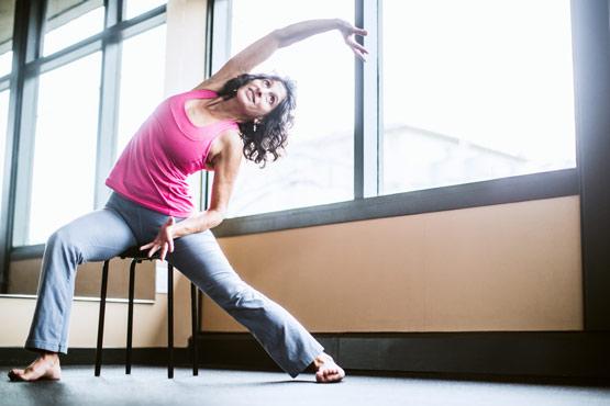Yoga sur chaise à Lévis
