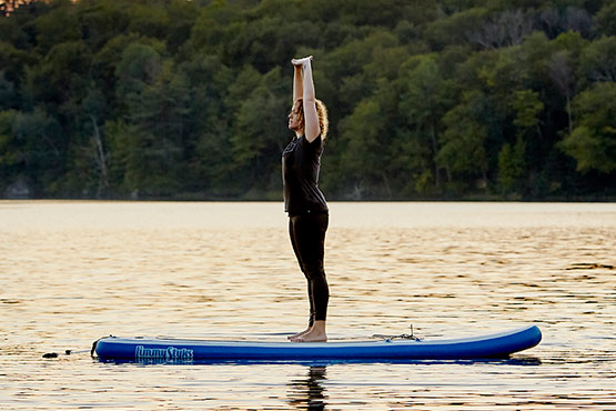 Stand up Paddleboard Yoga à Québec
