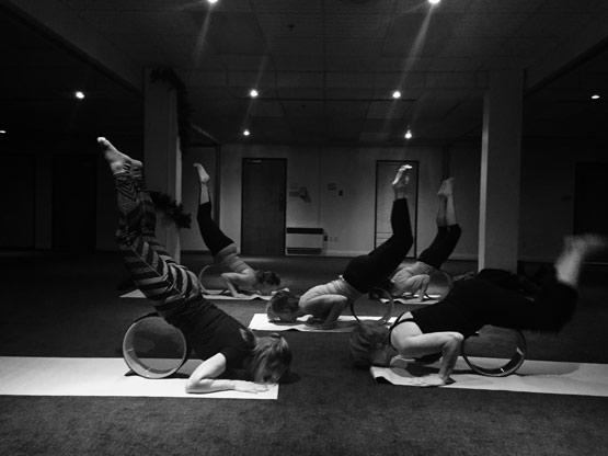 Yoga Roue Lévis
